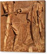 Gettysburg Bronze Relief Canvas Print