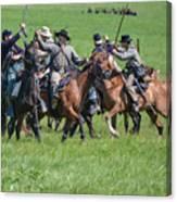 Gettysburg Cavalry Battle 7948c  Canvas Print