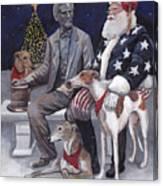 Gettysburg Christmas Canvas Print