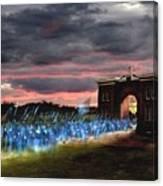 Gettysburg Evergreen Canvas Print