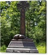Gettysburg Irish Brigade Monument Canvas Print