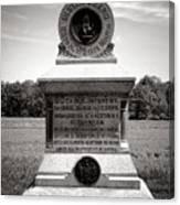 Gettysburg National Park 80th New York Infantry Militia Monument Canvas Print