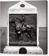 Gettysburg National Park 9th New York Cavalry Monument Canvas Print