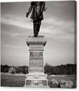 Gettysburg National Park John Gibbon Monument Canvas Print