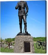 Gettysburg National Park Major General John Buford Memorial Canvas Print
