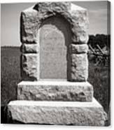 Gettysburg National Park Third West Virginia Cavalry Monument Canvas Print