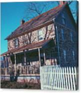 Gettysburg Series Weikert House Canvas Print