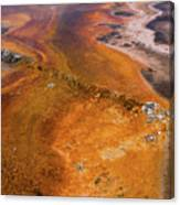 Geyser Basin Springs 6 Canvas Print