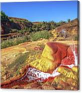 Geysers Of Madagascar Canvas Print