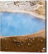 Geysir Area Canvas Print