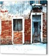 Ghetto Living  Venice Canvas Print
