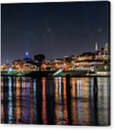 Ghirardelli Square At Night Canvas Print