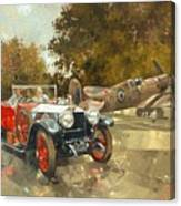 Ghost And Spitfire  Canvas Print