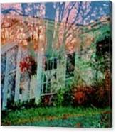 Ghost House Bold Canvas Print
