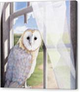 Ghost In The Attic Canvas Print