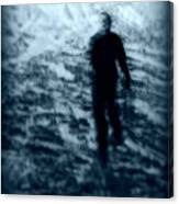 Ghost In The Snow Canvas Print