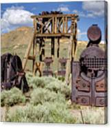 Ghost Mine Canvas Print