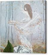 Ghost Of A Rose Canvas Print