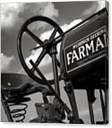 Ghost Of Farmall Past Canvas Print