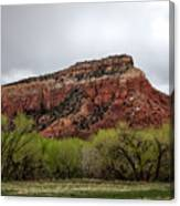Ghost Ranch View Canvas Print
