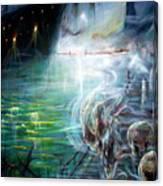 Ghost Ship 2 Canvas Print