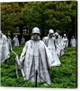 Ghost Soldiers Canvas Print