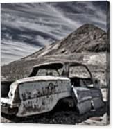 Ghost Town Junked Car Canvas Print