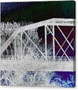Ghostly Bridge Canvas Print