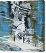 Ghostrider Reflection Canvas Print