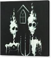 Ghosts Of American Gothic Canvas Print