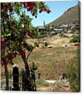 Ghosts Path To A Ghost Town Virginia City Nv Canvas Print