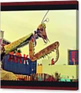 Giant Preying Mantis 1 Canvas Print