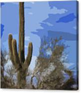 Giant Saguaro Canvas Print