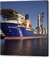 Giant Ship's Canvas Print