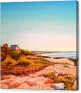Giant Steps Maine Canvas Print