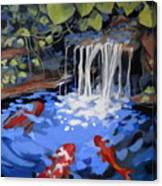 Gibb's Garden Stream Canvas Print