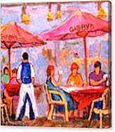 Gibbys Cafe Canvas Print