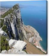 Gibraltar Canvas Print