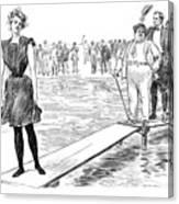 Gibson: Bather, 1900 Canvas Print