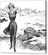 Gibson: Bather, 1902 Canvas Print