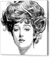 Gibson Girl, 1900 Canvas Print