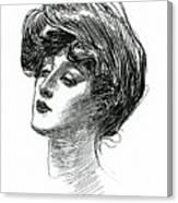 Gibson Girl 1902 Canvas Print
