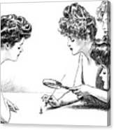 Gibson Girls 1904 Canvas Print