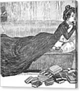 Gibson: Reader, 1900 Canvas Print