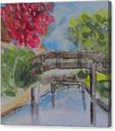 Giethoorn Bridges Canvas Print
