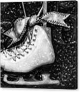 Gift Of Ice Skating Canvas Print