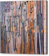 Gigantic Wrenches Canvas Print