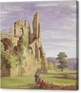 Gight Castle, 1851 Canvas Print
