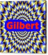 Gilbert Canvas Print