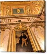 Gilded Ceiling Canvas Print